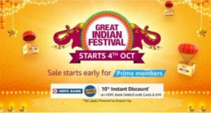 Amazon to host great Indian festival from oct 4